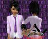 Female Suit Top - Lilac