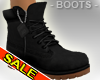 Casual T's Black Boots