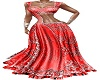 RED SILVER SAREE