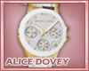!AD! Classic Gold Watch