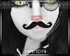 .M. Tux Mustache Human F