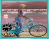 CW Teal Bicycle