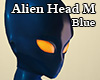 Alien Head M Blue
