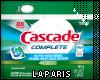 (LA) Cascade dishwasher