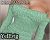 [Y] Sweater green drv