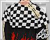 "Ⱥ"" Racer Fire Top"