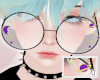 AT Purple Galaxy Glasses