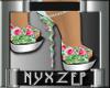 Rose Sandals Floral