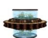 Round fishtank couch br