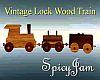 Wooden Lock Train