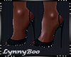 *Mai Black Glitter Heels