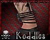 !K! Black Bangles M-L