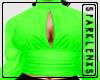 Star Girl Top Green