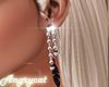 Pink & Black Earring