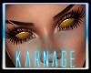 Orange Demon Eyes