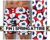 FIN| Red Vito Floral