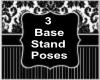 Unisex 3  Base Poses