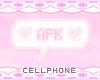 afk chat bubble ❤