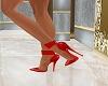 Jeweled Heels-Red