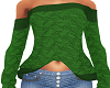 Green Mina Sweater