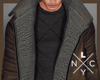 × Leather Coat
