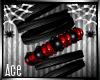 [AW] Red Punk Bracelet R