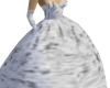 Silver Ball Room Gown