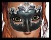 Black n silver mask