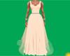 Peach Spring Gown