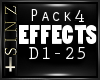 l EFFECTS PACK 4 l