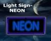 Light Sign- NEON