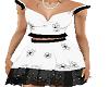 Black & White Daisy Dres