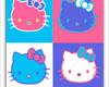 Hello Kitty Pop Art