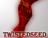 !TS RED BOOTS