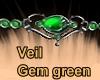 Gem Green Veil