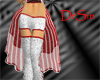 Candy Cane Red Skirt
