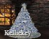 Ice Blue Christmas tree