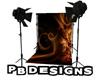 PB Pro Backdrop Swirls