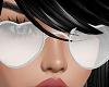 JS Kitty Glasses Silver