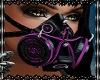 Gothic mask purple V1