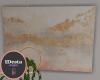 Peachy wall art