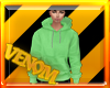 {VM}Hoodie Light Green