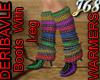 J68 Boots W Leg Warmers