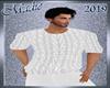!b Knit Sweater White