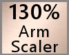 Arm Scaler 130% F A
