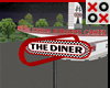Rotating Sign: The Diner