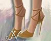 N. Creme Suede Heels
