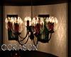 .:C:. Rose chandelier