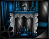 Blue Fantasy Fireplace