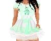 Flat Easter Bunny Dress
